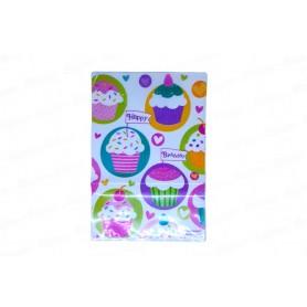 Bolsa Cupcake Paquete x8
