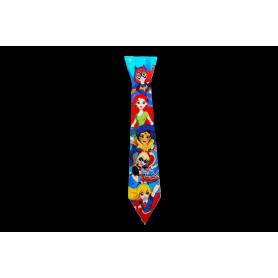 Corbata SuperHéroes Chicas Paquete x12