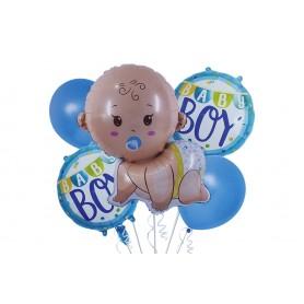 Globo Ramillete Baby Shower Niño