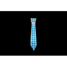 Corbata Picnic Azul Paquete x 12