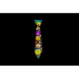 Corbata Emoticones Paquete x12 Surtifiestas