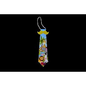 Corbata Bigote Pequeña Selva Paquete x 12