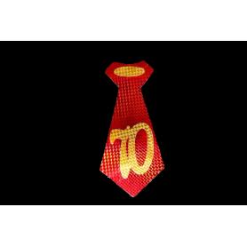 Corbata 70 Años Paquete x6