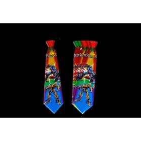 Corbata Grande FyC Transformers x12