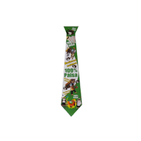 Corbata Paisa Verde Paquete x12