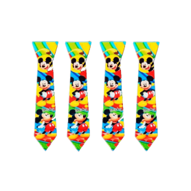Corbata Mickey Paquete x12