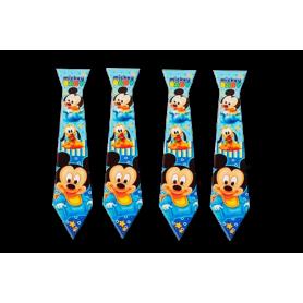 Corbata Mickey Baby Paquete x12