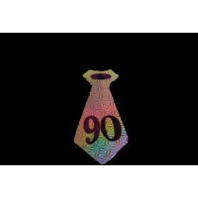 Corbata 90 Años Paquete x6
