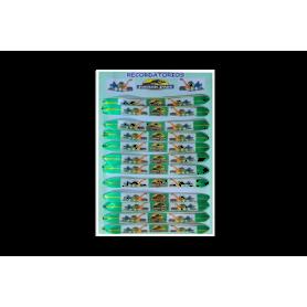 Manilla Dinosaurios Paquete x12