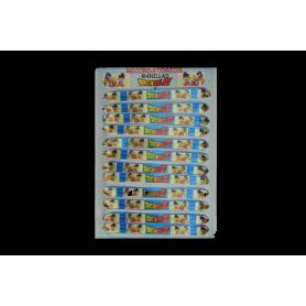 Manilla Dragon Ball Z Paquete x12