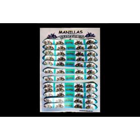 Manillas Tortuga Ninja x12