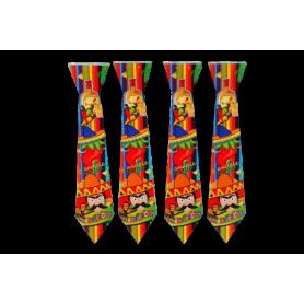 Corbata Mexicano Surtifiesta Paquete x12