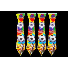 Corbata Fútbol Paquete x12 Surtifiestas