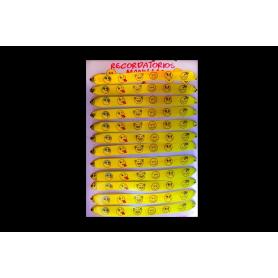 Manilla Emoticones Paquete x12