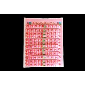 Manilla Fresita Paquete x12