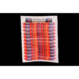 Manilla Spiderman Paquete x12