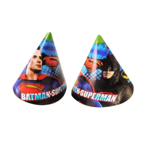 Gorro Batman Y Superman Paquete x12