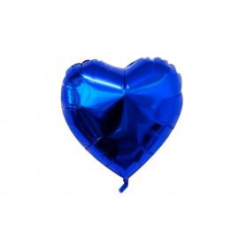 Globo Corazon Azul Real