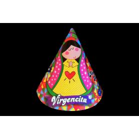 Gorro Virgen de Guadalupe Paquete x12