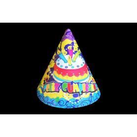 Gorro Feliz Cumpleaños Paquete x12