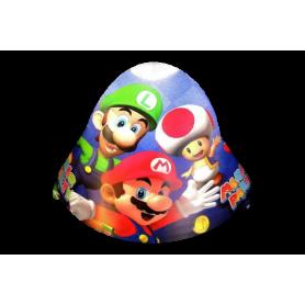 Gorro Mario Party Paquete x12