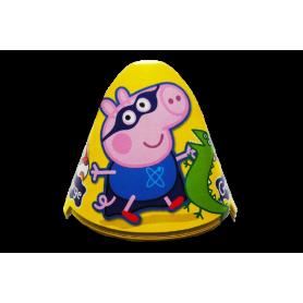 Gorro Peppa Pig George Paquete x12