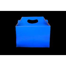 Caja de Regalo Azul Real