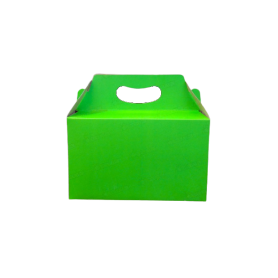 Caja de Regalo Verde Neón