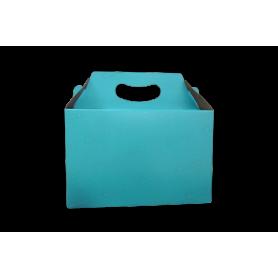 Caja de Regalo Azul Claro
