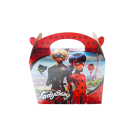 Caja de Regalo LadyBug Paquete x6
