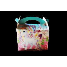 Caja de Regalo Unicornio Paquete x6
