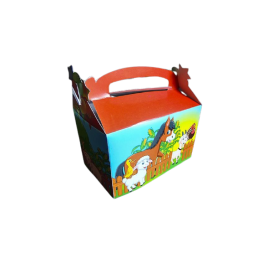 Caja Regalo Granja Paquete x6