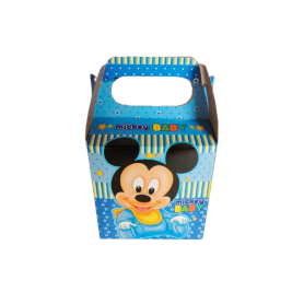 Caja Mickey Baby Paquete x12