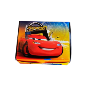 Caja Torta Sempertex Cars Paquete x8