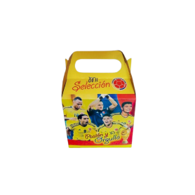 Caja Selección Colombia Paquete x12