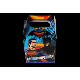Caja Batman y Superman Paquete x12