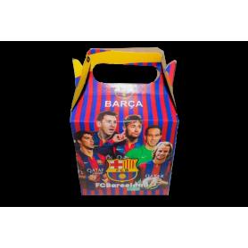 Caja Fútbol Club Barcelona Paquete x12