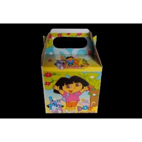 Caja Dora La Exploradora Paquete x12
