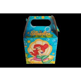 Caja Sirenita Paquete x12