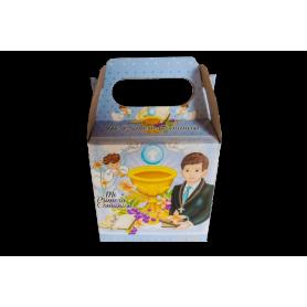 Caja Primera Comunión Niño Paquete x12
