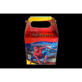 Caja Spiderman Paquete x12