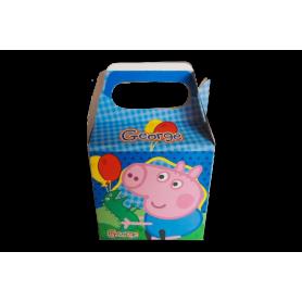 Caja Peppa Pig George Paquete x12