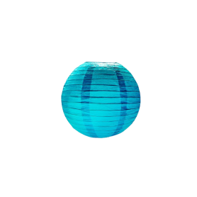 Adorno Farol Chino Azul Mediano