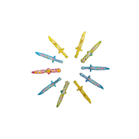 Relleno Piñata Espadas Paquete x10