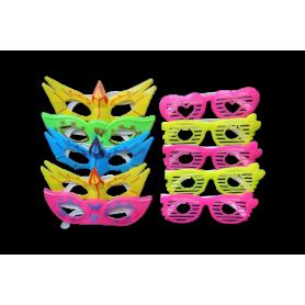 Relleno Piñata Gafas Paquete x10