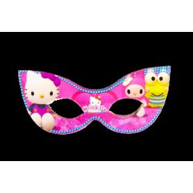 Antifaz Pequeño Hello Kitty Paquete x12
