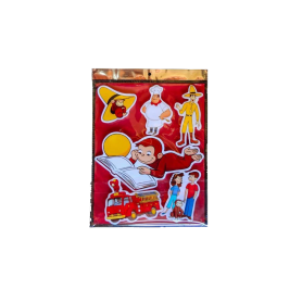 Stickers Curious George