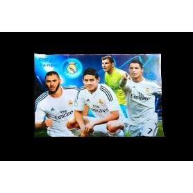 Afiche Sticker Real Madrid