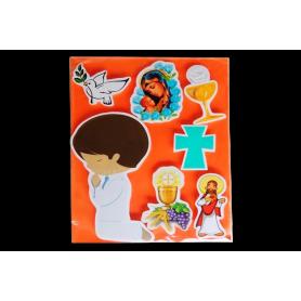 Stickers Primera Comunión Niño