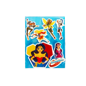 Stickers SuperHéroes Chicas